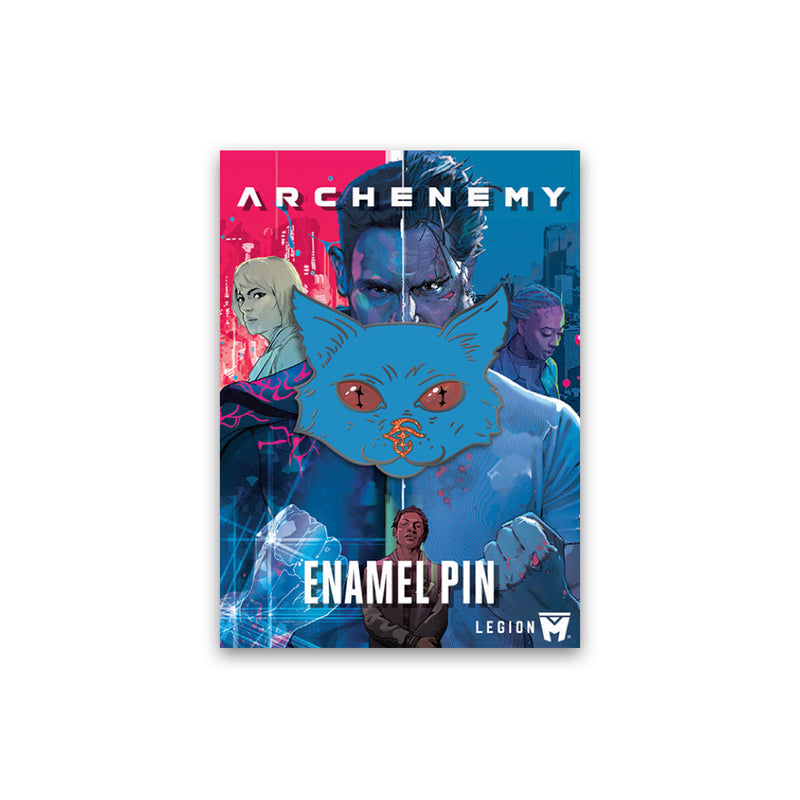 ARCHENEMY - Trendible Cat Pin
