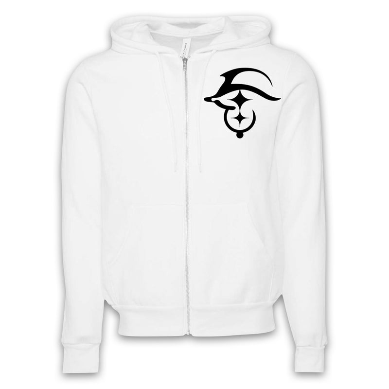 ARCHENEMY - Trendible Logo Only - Zip-Up Hoodie