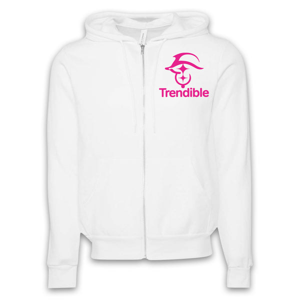 ARCHENEMY - Trendible Pink - Zip-Up Hoodie