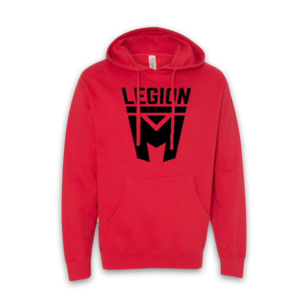 LEGION M - Black Shield Pullover Hoodies