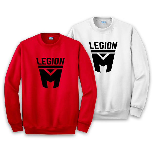 LEGION M - Black Shield Pullover Sweaters