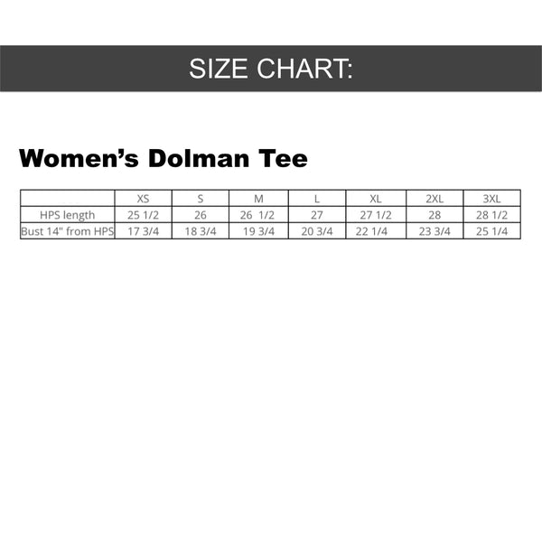AUTOFOCUS - One More Just For Safety - Women's Dolman Tee