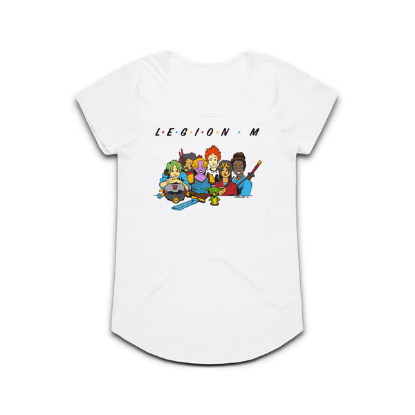 LEGION M - Friends Unite! - Women's Dolman Tee
