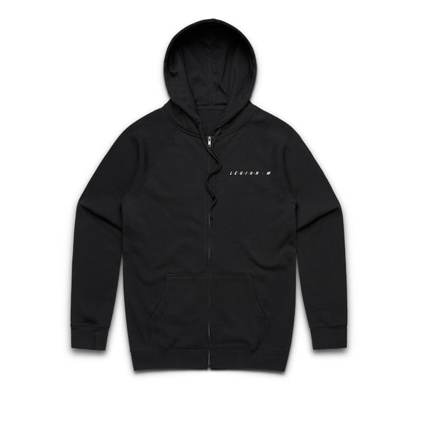 LEGION M - Friends Unite! (Logo Only) - Zip-Up Hoodie