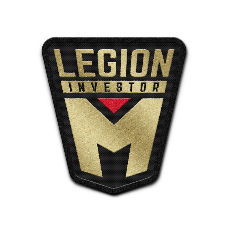 "LEGION M - Investor Iron-On Patch (3"" size)"