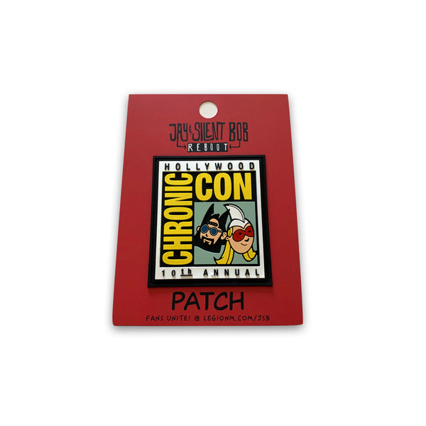 "JAY & SILENT BOB REBOOT - Chronic Con Adhesive Patch (3"" size)"