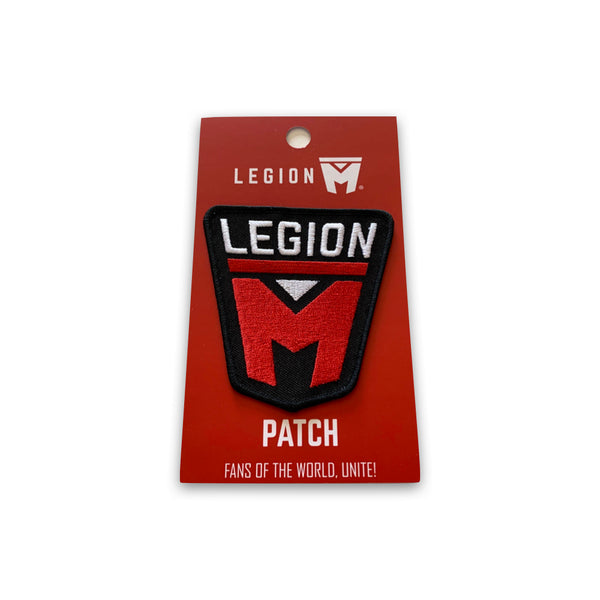 "LEGION M - Logo Iron-On Patch (3.5"" size)"