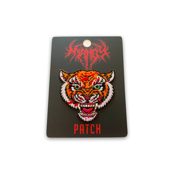 "MANDY - Tiger Iron-On Patch (3"" size)"