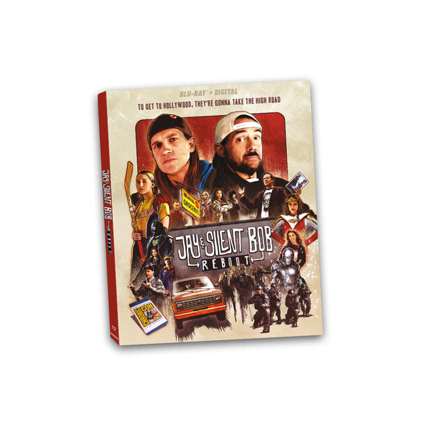 JAY & SILENT BOB REBOOT - BLU-RAY (Movie Only)