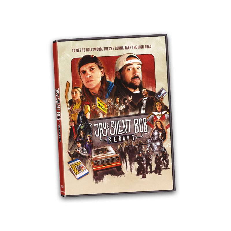 JAY & SILENT BOB REBOOT - DVD (Movie Only)