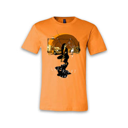 THE LEFT RIGHT GAME - Full Logo Supernatural Journey - Orange Tee