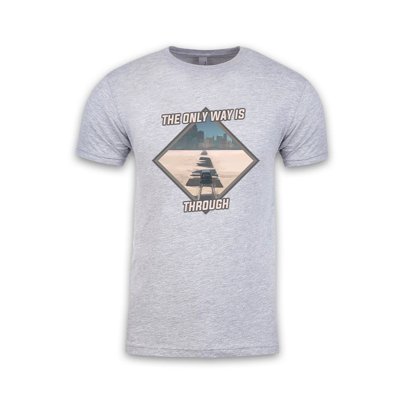 THE LEFT RIGHT GAME - Silent City Souvenir - Grey Tee