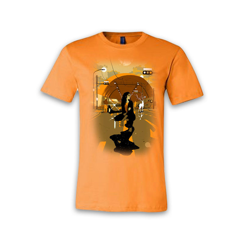 THE LEFT RIGHT GAME - Supernatural Journey - Orange Tee