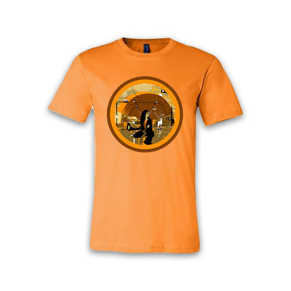 THE LEFT RIGHT GAME - Tunnel Vision - Orange Tee