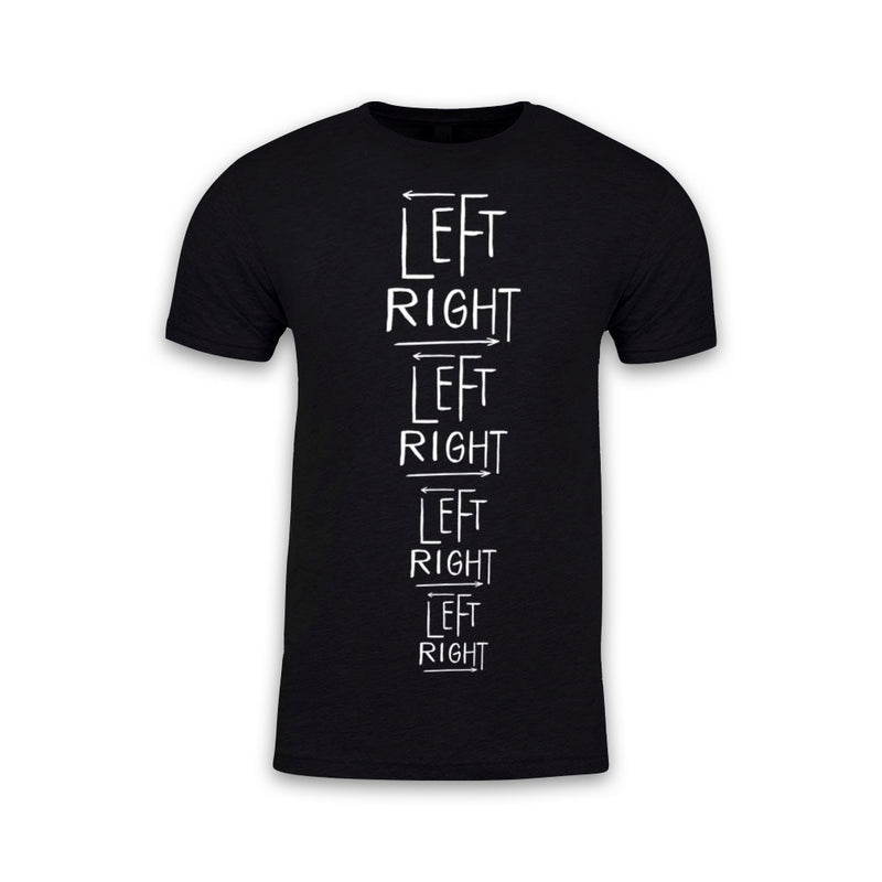 THE LEFT RIGHT GAME - Turns Tee