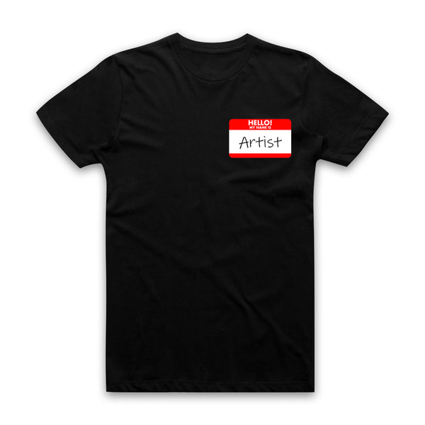 AUTOFOCUS - Hello My Name Is __________ - Pocket Print Tee