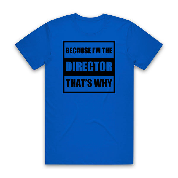 AUTOFOCUS - Because I'm The Director Tee
