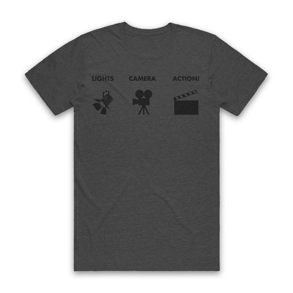 AUTOFOCUS - Lights Camera Action Tee