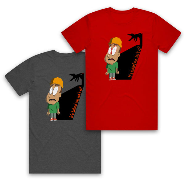 AUTOFOCUS - Movie Trope - It's Behind Me Tee