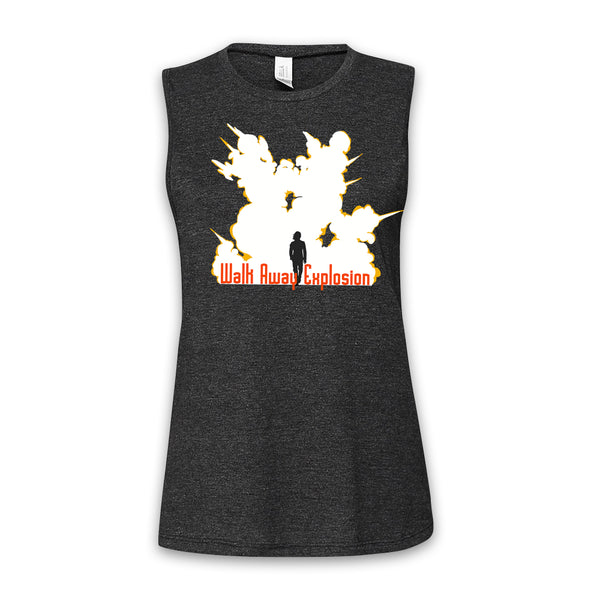 AUTOFOCUS - Movie Trope - Walk Away Women's Muscle Tank