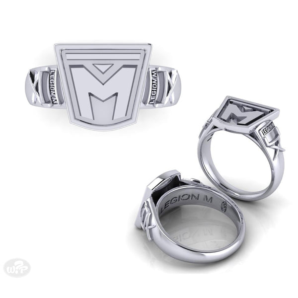 LEGION M - Dainty Silver Ring