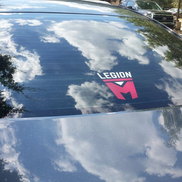 LEGION M - SWAG - Shield Logo Decal