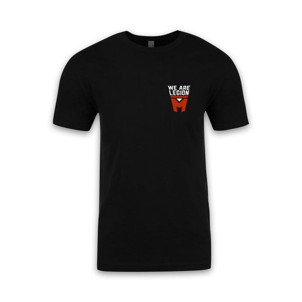 LEGION M - We Are Legion M Pocket Logo - Black Tee