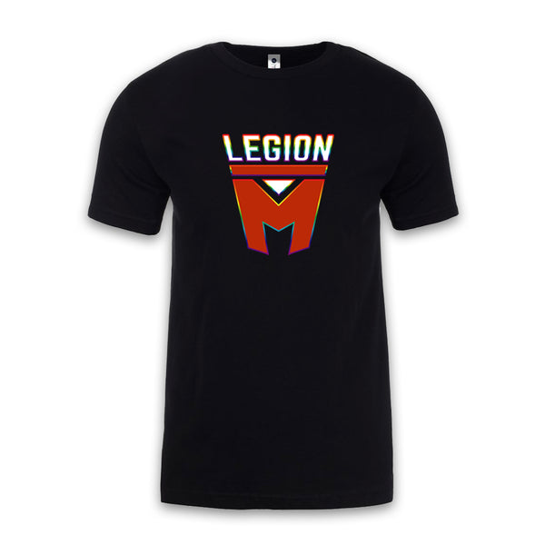LEGION M PRIDE - Rainbow Outline - Unisex Tee