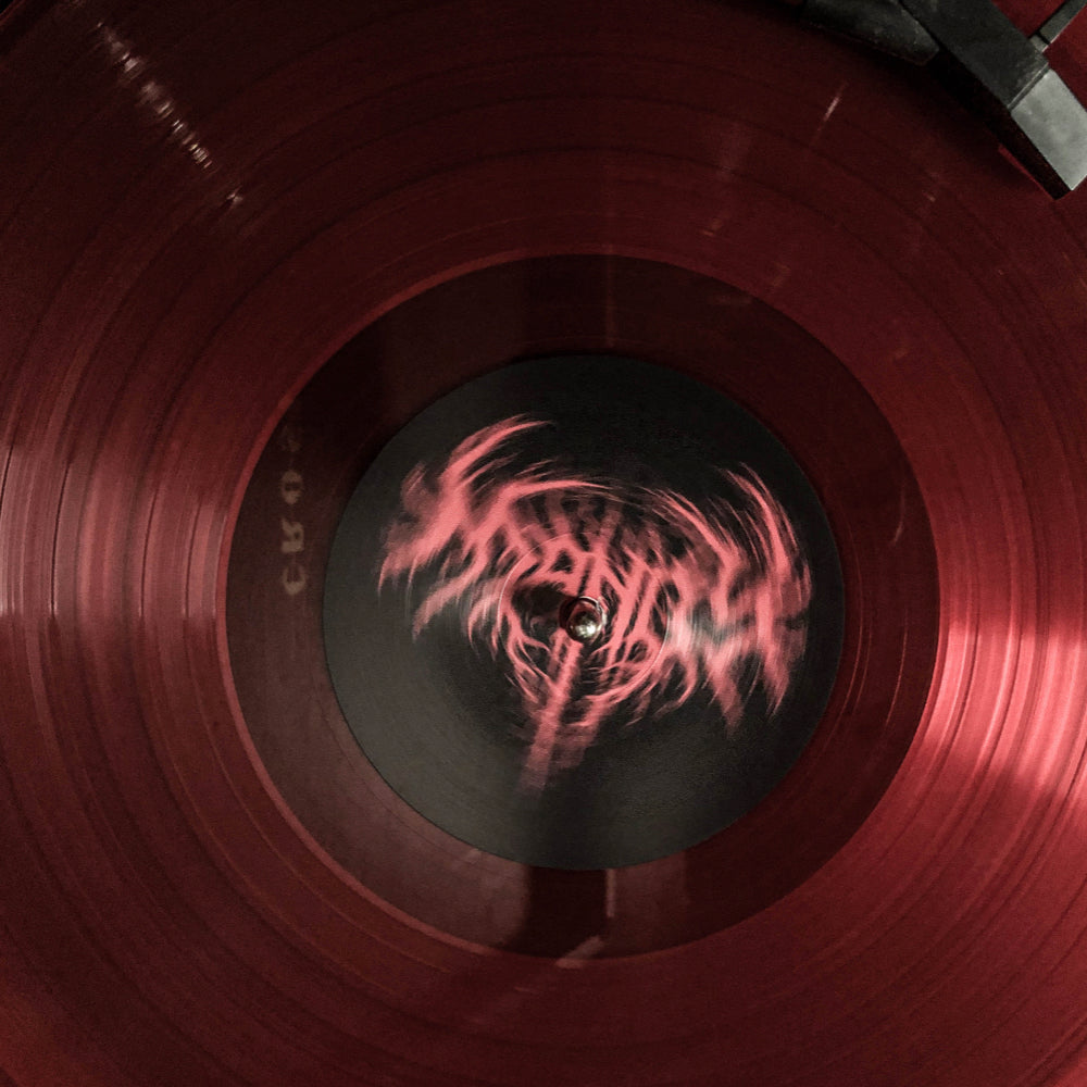 MANDY - Soundtrack Vinyl with Limited Edition Pin - Translucent Red Vinyl