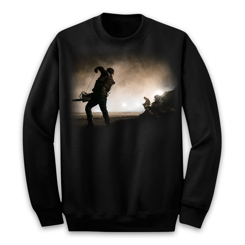 MANDY - Red Miller Chainsaw Battle Sweater