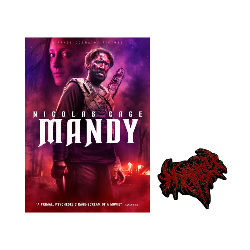 MANDY - DVD with Limited Edition Pin