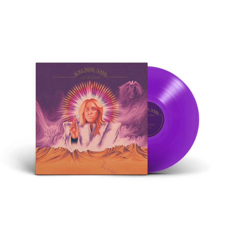 MANDY - Jeremiah Sand LIFT IT DOWN - Purple Vinyl