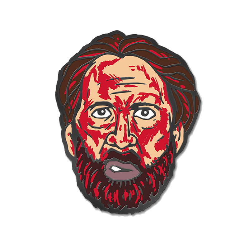 MANDY - Red Miller Bloody Head Pin