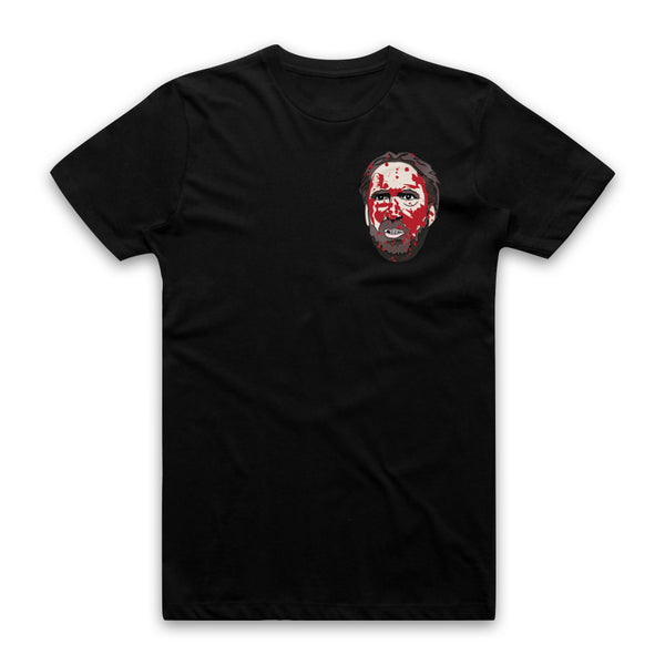 MANDY - Red Miller Bloody Head - Pocket Print Tee