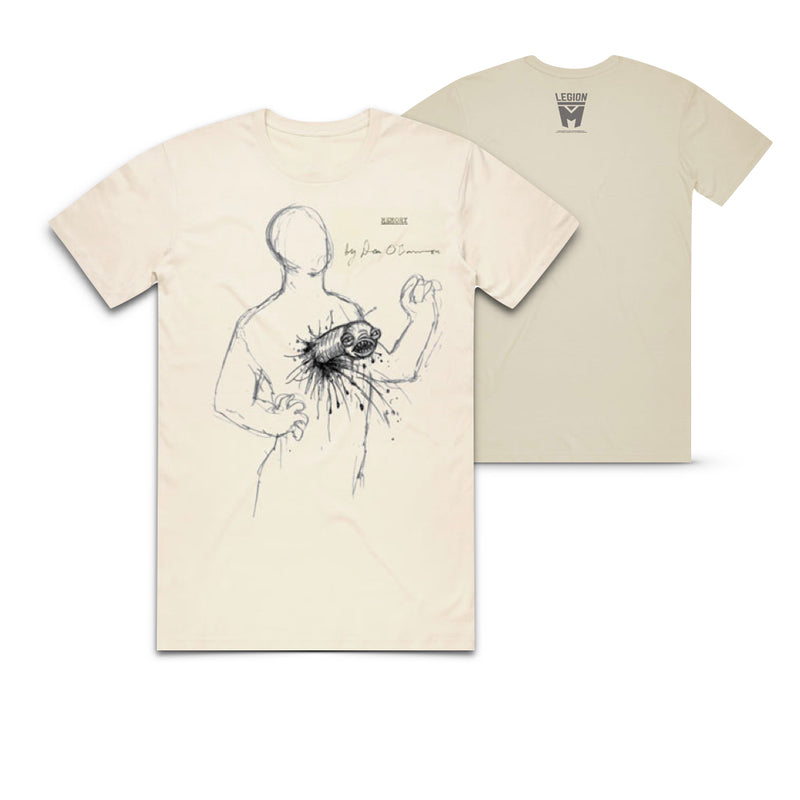 MEMORY: THE ORIGINS OF ALIEN - Dan O'Bannon Sketch - Natural Tee