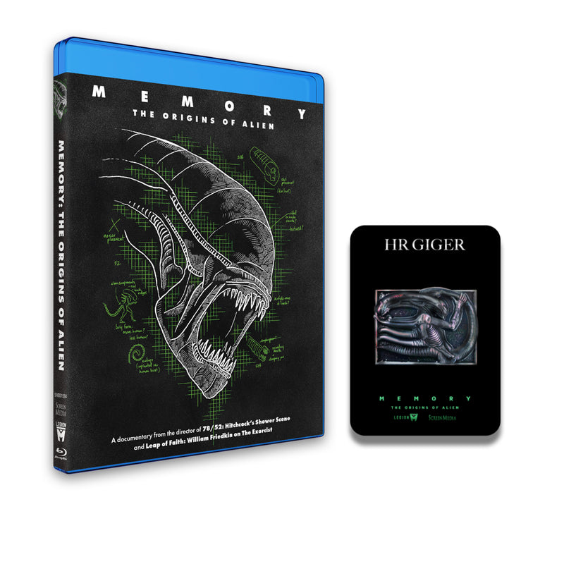 MEMORY: THE ORIGINS OF ALIEN - Movie & Giger Pin Gift - BLU-RAY