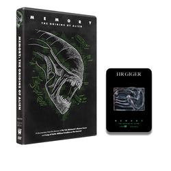 MEMORY: THE ORIGINS OF ALIEN - Movie & Giger Pin Gift - DVD