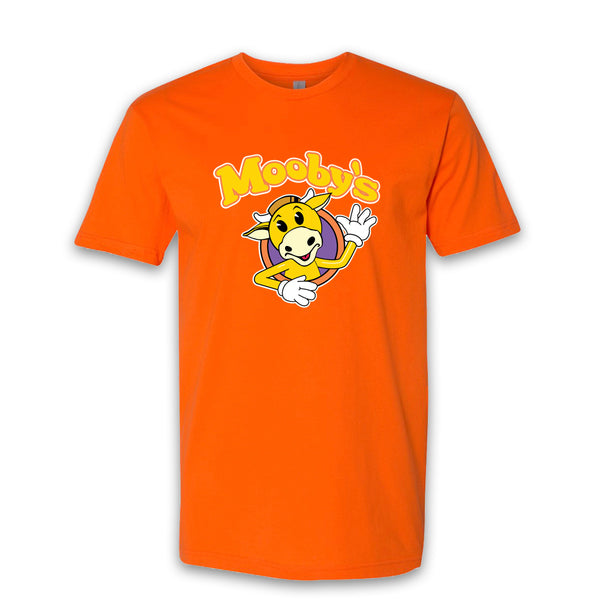 MOOBY'S POP UP - Social Distancing - Orange Tee