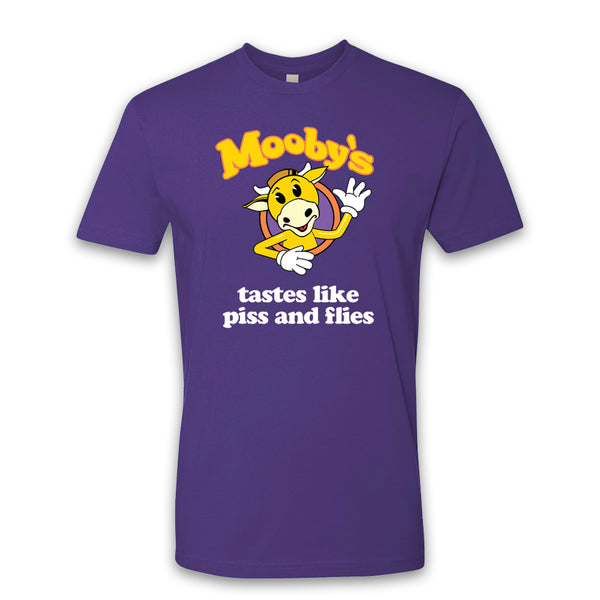 MOOBY'S POP UP - Mooby's Tastes Like - Purple Tee