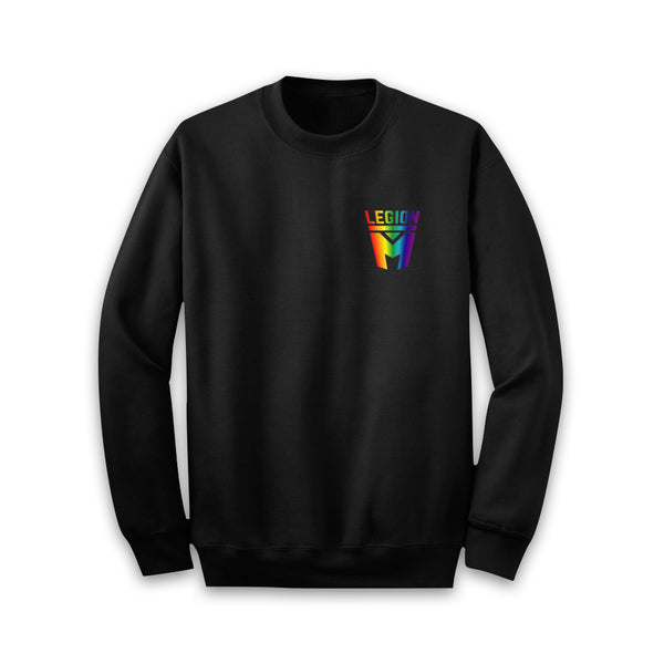 LEGION M PRIDE - Pocket Rainbow Fill Sweater
