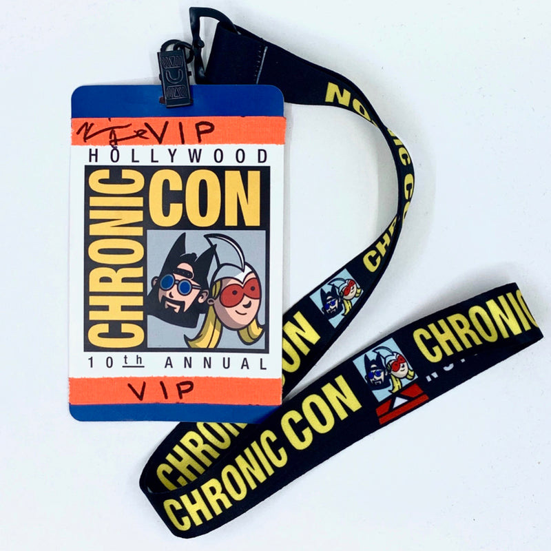 JAY & SILENT BOB REBOOT - Chronic Con Lanyard - SIGNED AND FILM USED
