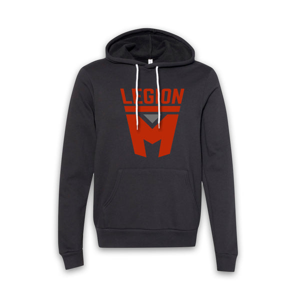 LEGION M - Red Shield Pullover Hoodie