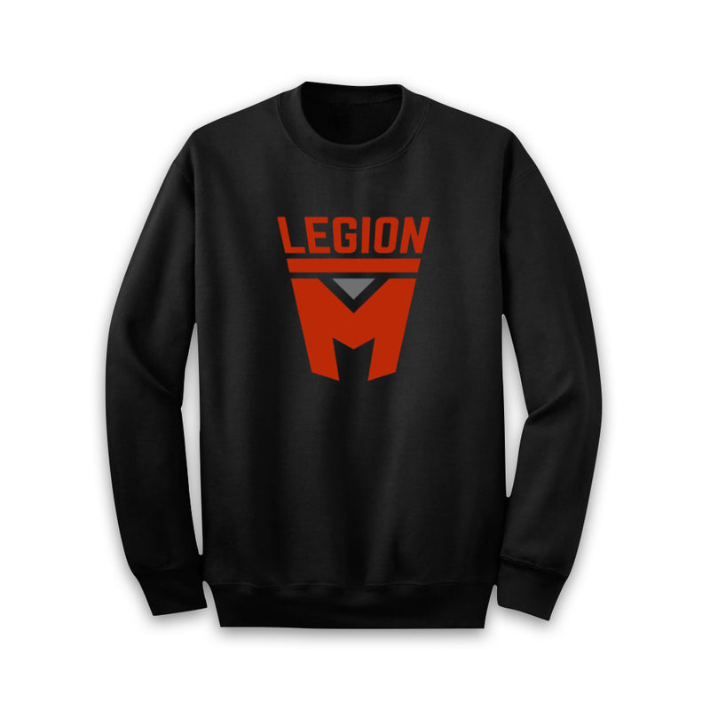 LEGION M - Red Shield Pullover Sweater