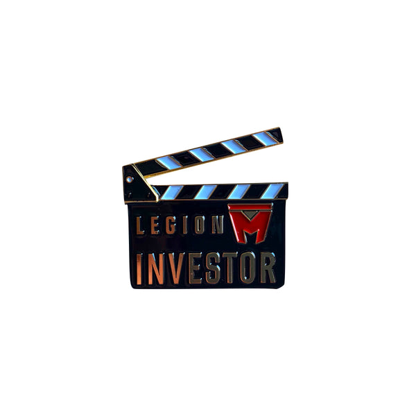 LEGION M - Round 5 Investor Pin - Gold Edition