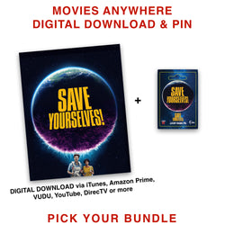 Save Yourselves! - Movies Anywhere Digital Download & Pin