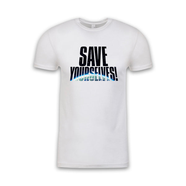 Save Yourselves! - Earth Fill Title Tee