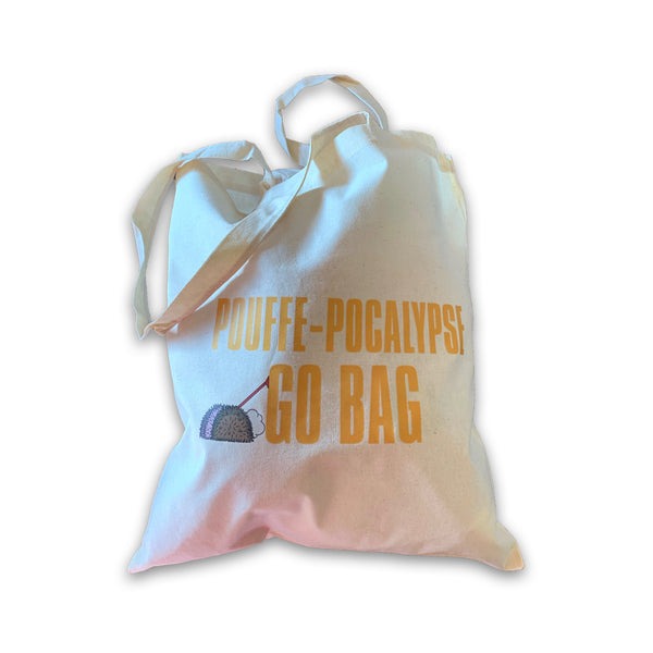SAVE YOURSELVES! - Pouffe-Pocalypse Go Bag