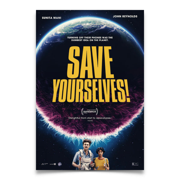 Save Yourselves! - One Sheet Movie Theater Poster (PRE-ORDER)