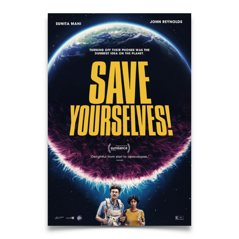 Save Yourselves! - One Sheet Movie Theater Poster