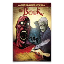 THE BOOK - Graphic Novel Paperback Signed by Author Erik Hendrix